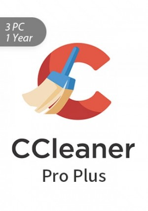 Ccleaner Professional Plus 3 PC / 1 Year