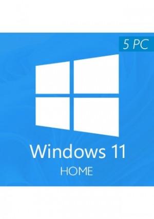 Windows 11 Home CD-KEY (5 PCs)
