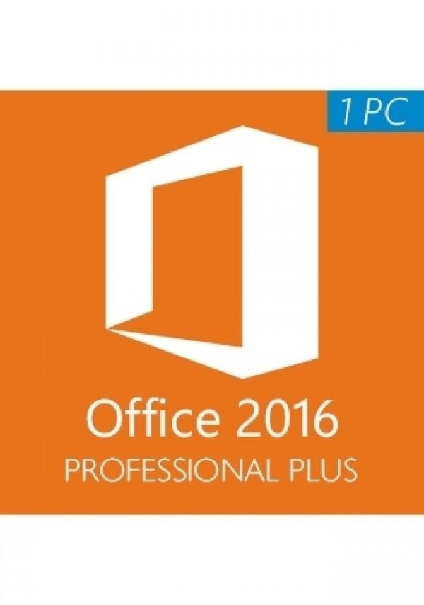 Microsoft Office 2016 Pro Plus /1 PC