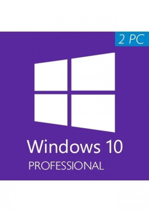 Windows 10 Pro Professional 2PC