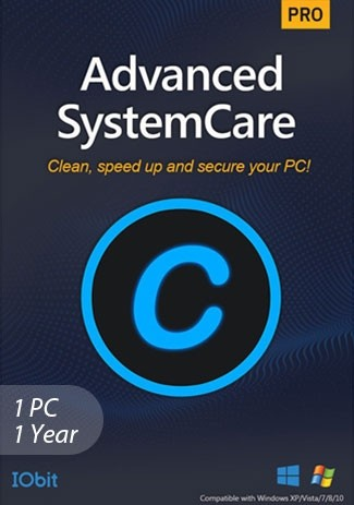 Advanced SystemCare 15 Pro - 1 PC 1 Year