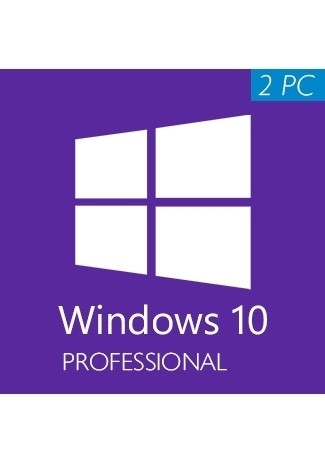 Microsoft Windows 10 Professional CD-KEY (32/64 Bit) (2 PC)