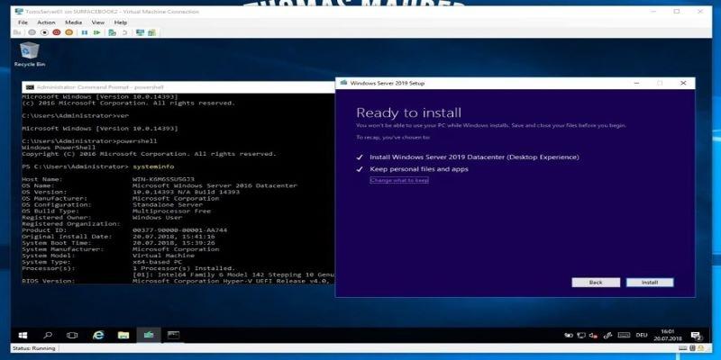 Windows Server 2019 SDatacenter